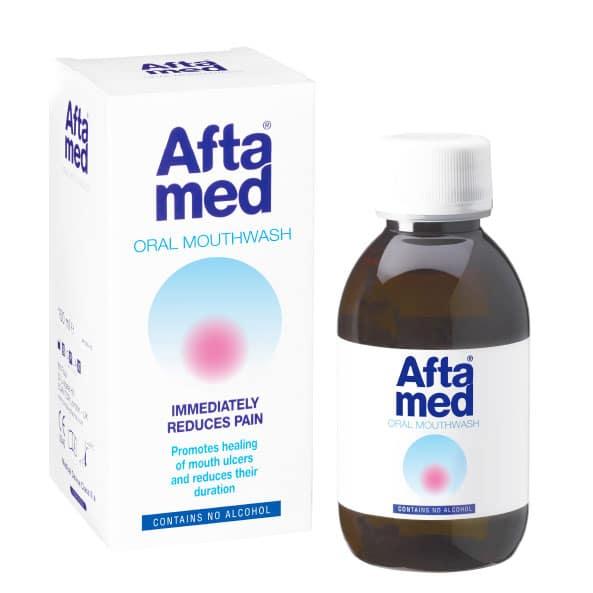 Bain de bouche à l'acide hyaluronique AFTAMED 150mL