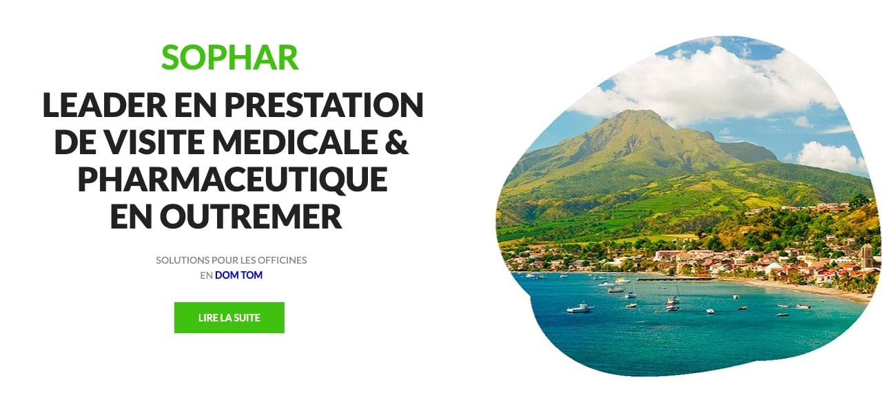 prestation médicale et pharmaceutique en Outre-Mer